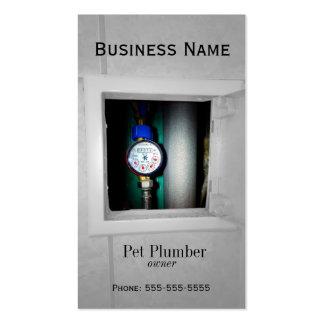 plumber business card templates