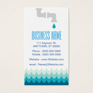 Plumber Business Cards - 100