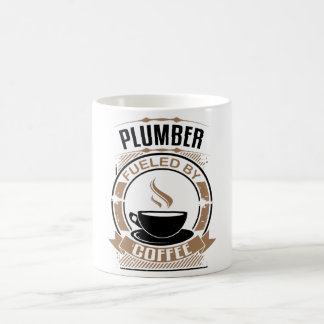 Plumber Fueled By Coffee Coffee Mug