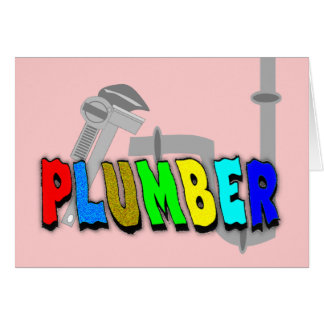 Plumber gifts cards
