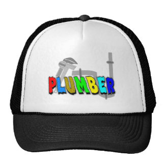 Plumber gifts hats