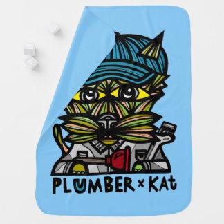 """Plumber Kat"" Baby Blanket"