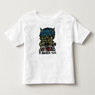 """Plumber Kat"" Toddler T-Shirt"