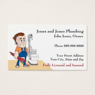 Plumber Plumbing Business Card