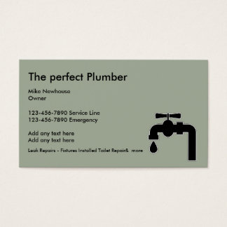 Snap plumbing business cards and business card templates zazzle plumbing business cards and business card templates zazzle canada wajeb Choice Image