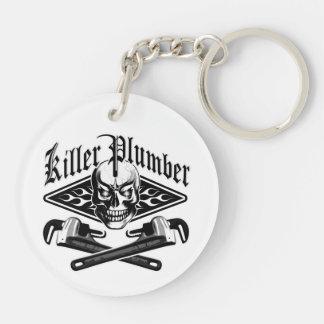 Plumber Skull: Killer Plumber 3.1 Keychain