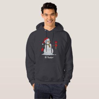Plumber Snowman #1 Plumber Hoodie