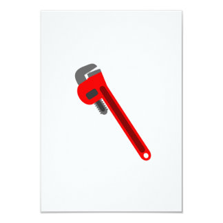 Plumber Wrench Card