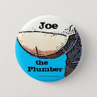 Plumbers Butt... Joe the plumber Button
