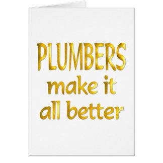Plumbers Card