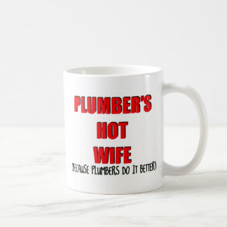 Plumbers Hot Wife Coffee Mug