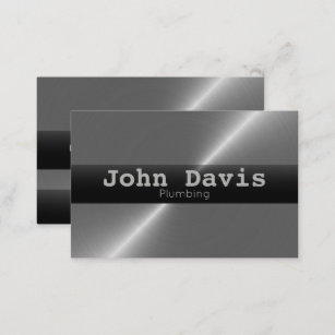 Plumbing Business Cards Amp Profile Cards Zazzle Ca