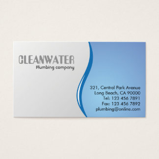 Plumbing - Business Cards