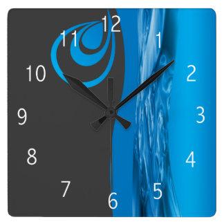 Plumbing company clock design