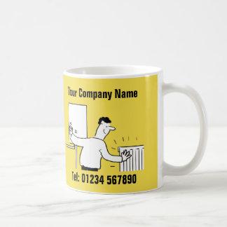 Plumbing & Heating Services Cartoon Mug