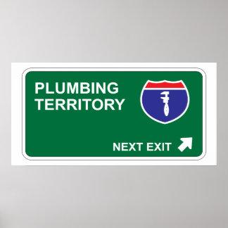 Plumbing Next Exit Poster