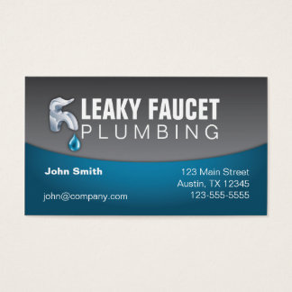 Plumbing Professional Business Card