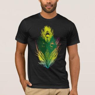 Plume de paon t-shirt