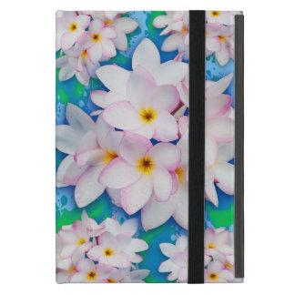 Plumeria Bouquet Exotic Summer Pattern iPad Mini Case