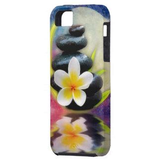 plumeria design iPhone 5 case