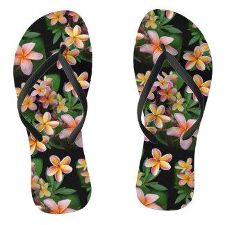 Plumeria Flip Flops