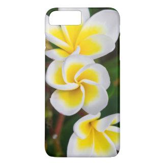 Plumeria flowers close-up, Hawaii iPhone 8 Plus/7 Plus Case