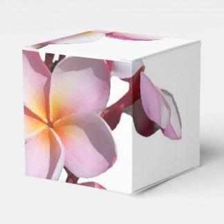 Plumeria Flowers Favor Box