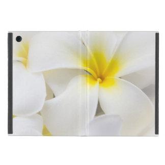 Plumeria Flowers Hawaiian Frangipani Floral Flower iPad Mini Cover