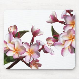 Plumeria Flowers Mousepad