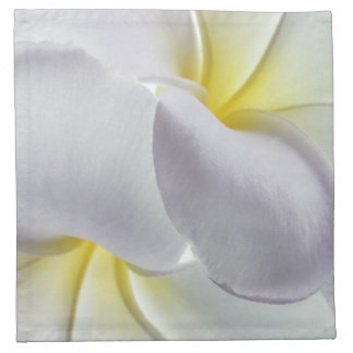 Plumeria Frangipani Hawaii Flower Customized Blank Printed Napkins