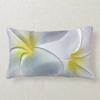 Plumeria Frangipani Hawaii Flower Customized Blank Throw Pillow