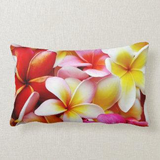 Plumeria Frangipani Hawaii Flower Customized Lumbar Pillow