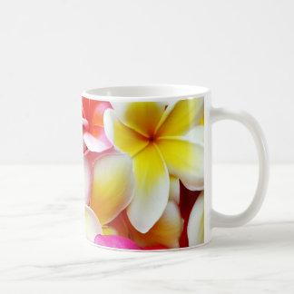 Plumeria Frangipani Hawaii Flower Hawaiian Flowers Coffee Mug