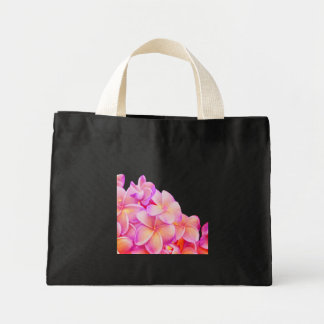 Plumeria Mini Tote Bag