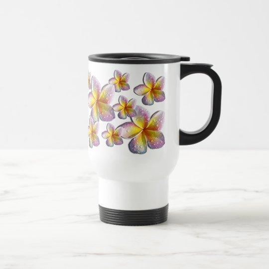 Plumeria mug