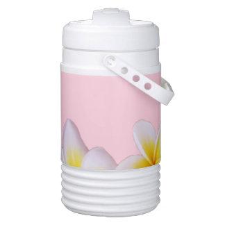 Plumeria on Pretty Pink Drinks Cooler