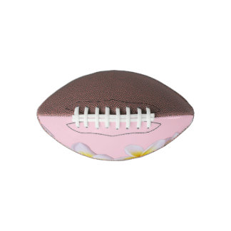 Plumeria on Pretty Pink Football