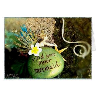 Plumeria Photo Art Notecard