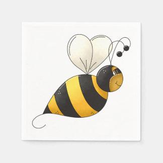 Plump Bee Paper Napkins