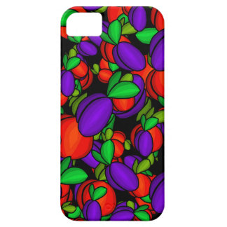 Plums and peaches iPhone 5 covers