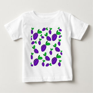 Plums pattern baby T-Shirt