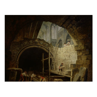 Plundering the Royal Vaults Postcard
