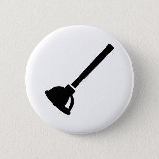 Plunger plumber 2 inch round button