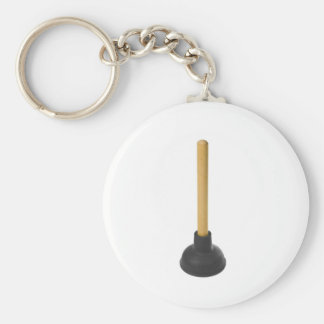 plunger - rubber suction cup keychain