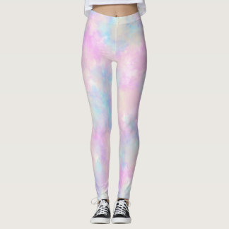 Plur Pastel Leggings, Rave Pants, Sweet Lolita Leggings
