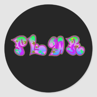 Plur sticker