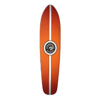 """Plus chaudement panneau de skat «Longboard Fire """" Skateboard"""