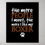 Plus les personnes je rencontre… la version de box affiches