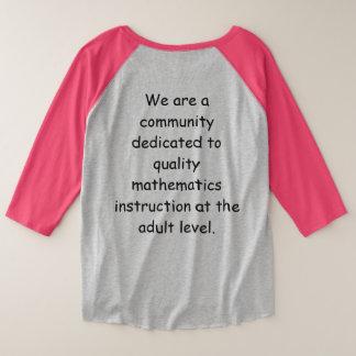Plus Size Women's ANN Community 3/4 Sleeve T-shirt