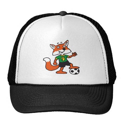 plus soccer fox casquette